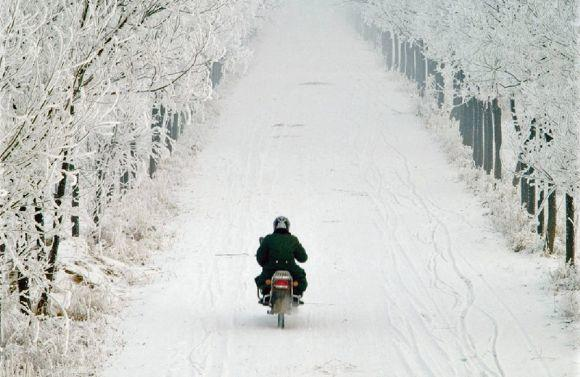 ¿Usas tu moto en invierno?
