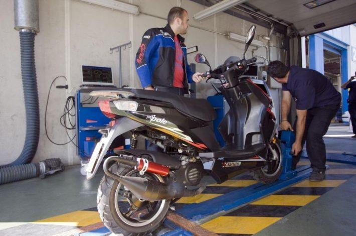 ITV per a motos: Passa-la a la primera