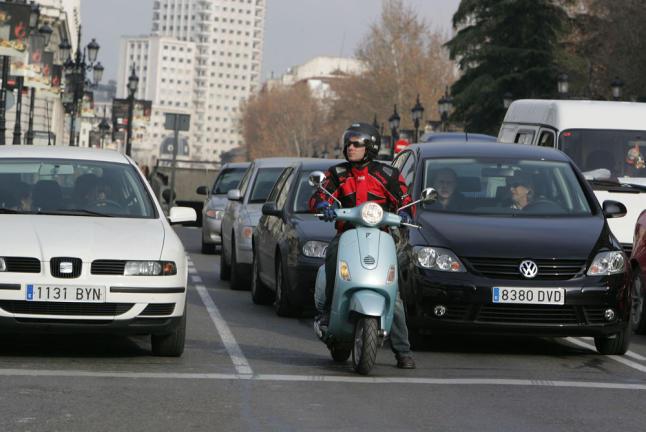 Las etiquetas medioambientales para motos